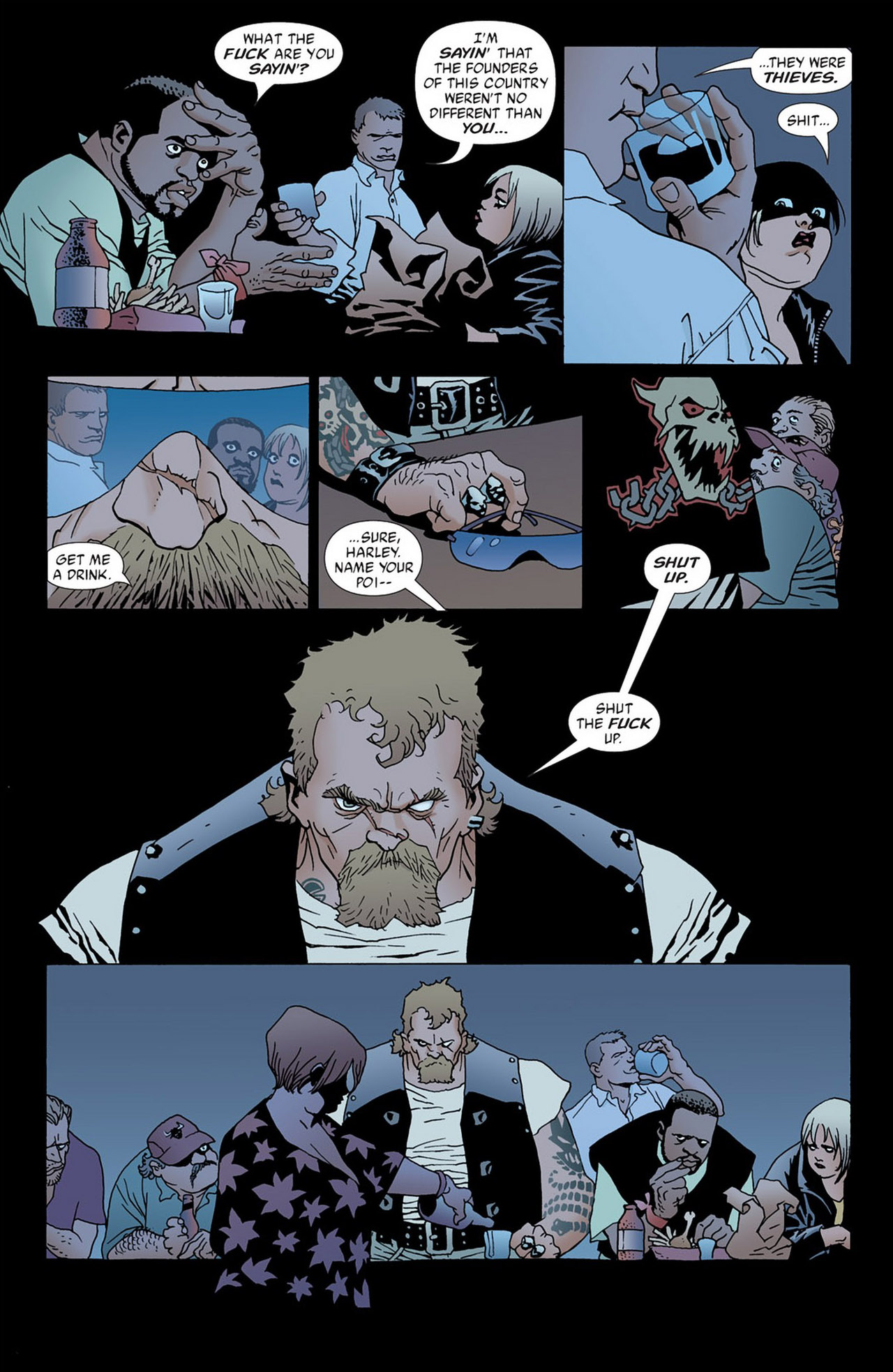 Read online 100 Bullets comic -  Issue #50 - 10