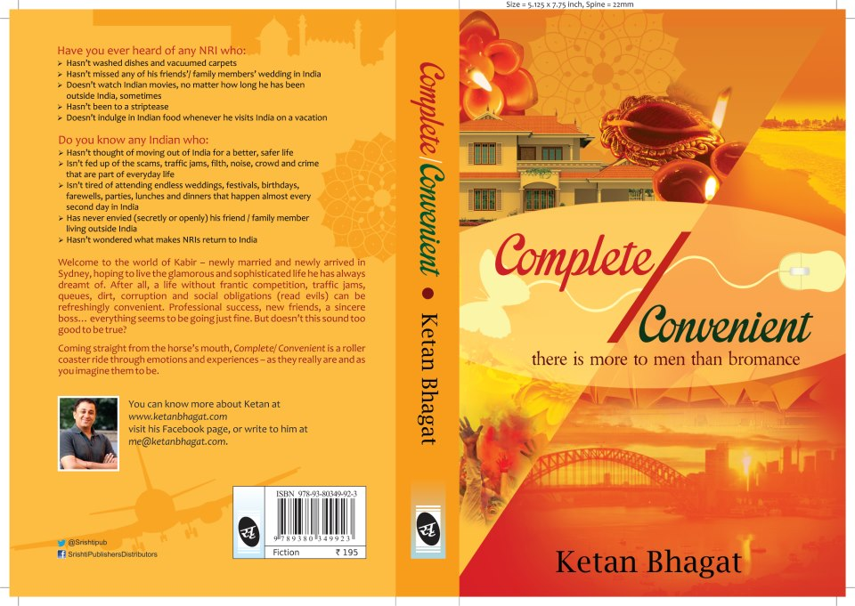 Book And Novel Reviews Cover Page Of Ketan Bhagat S Debut
