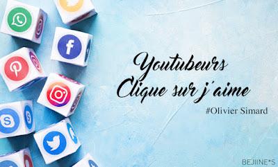 Livre : Youtubeurs - Olivier Simard