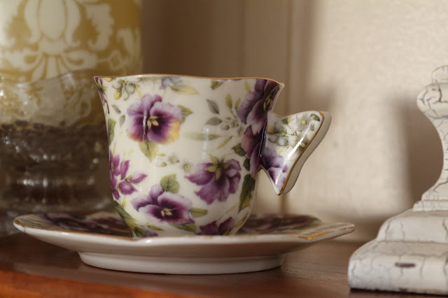 Violet Teacup, Living From Glory To Glory Blog