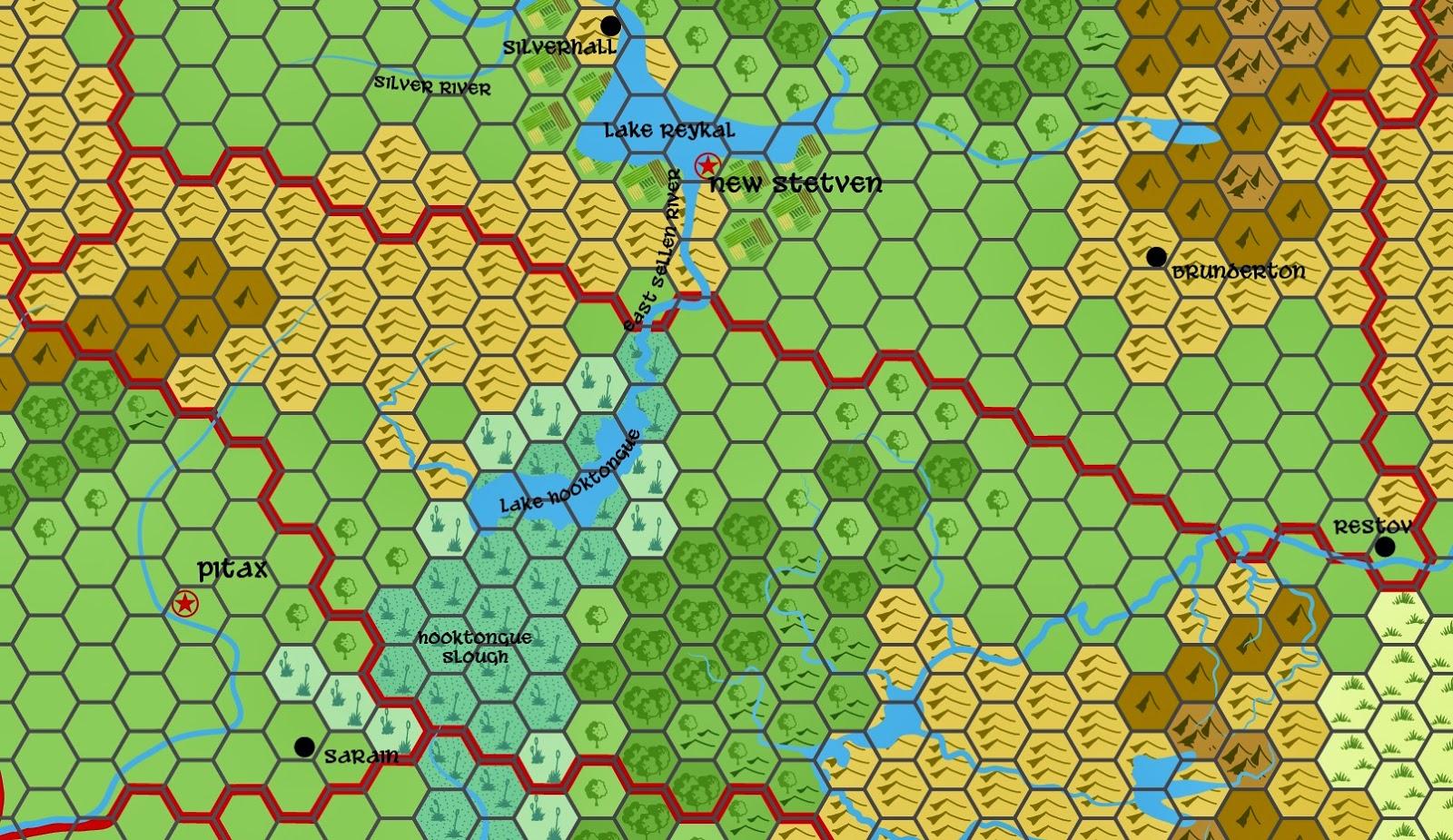 Johnu0027s Hex And Non Hex Fantasy Maps