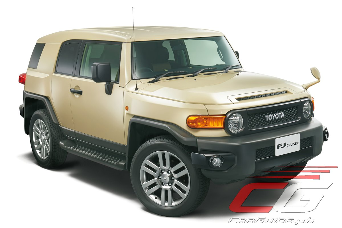 Announced exclusively for the japanese market the fj cruiser final edition commemorates the end of production for toyota s mid sized 2 2 off roader