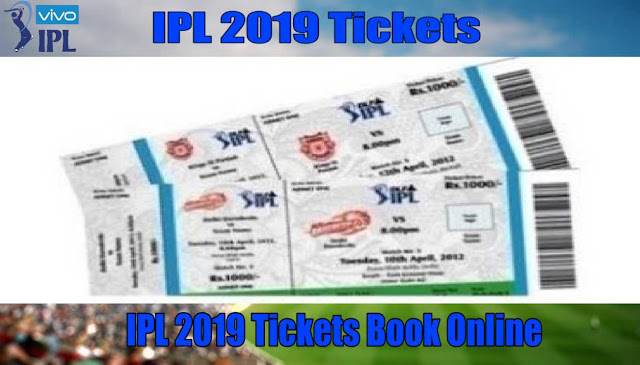 IPL 2019 Tickets