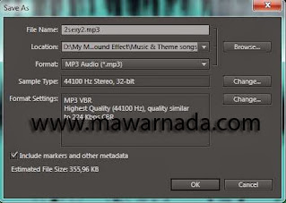 WAV menjadi MP3