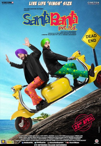 Santa Banta Pvt Ltd 2016 Hindi 480p DVDRip 300mb