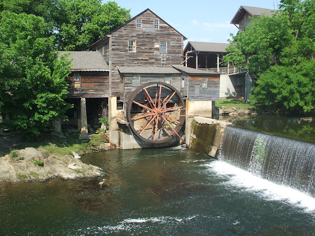 The Famous Old Mill at Pigeon Forge