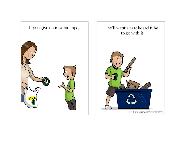 If You Give a Kid Some Tape…