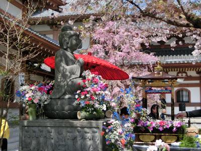 長谷寺の花まつり