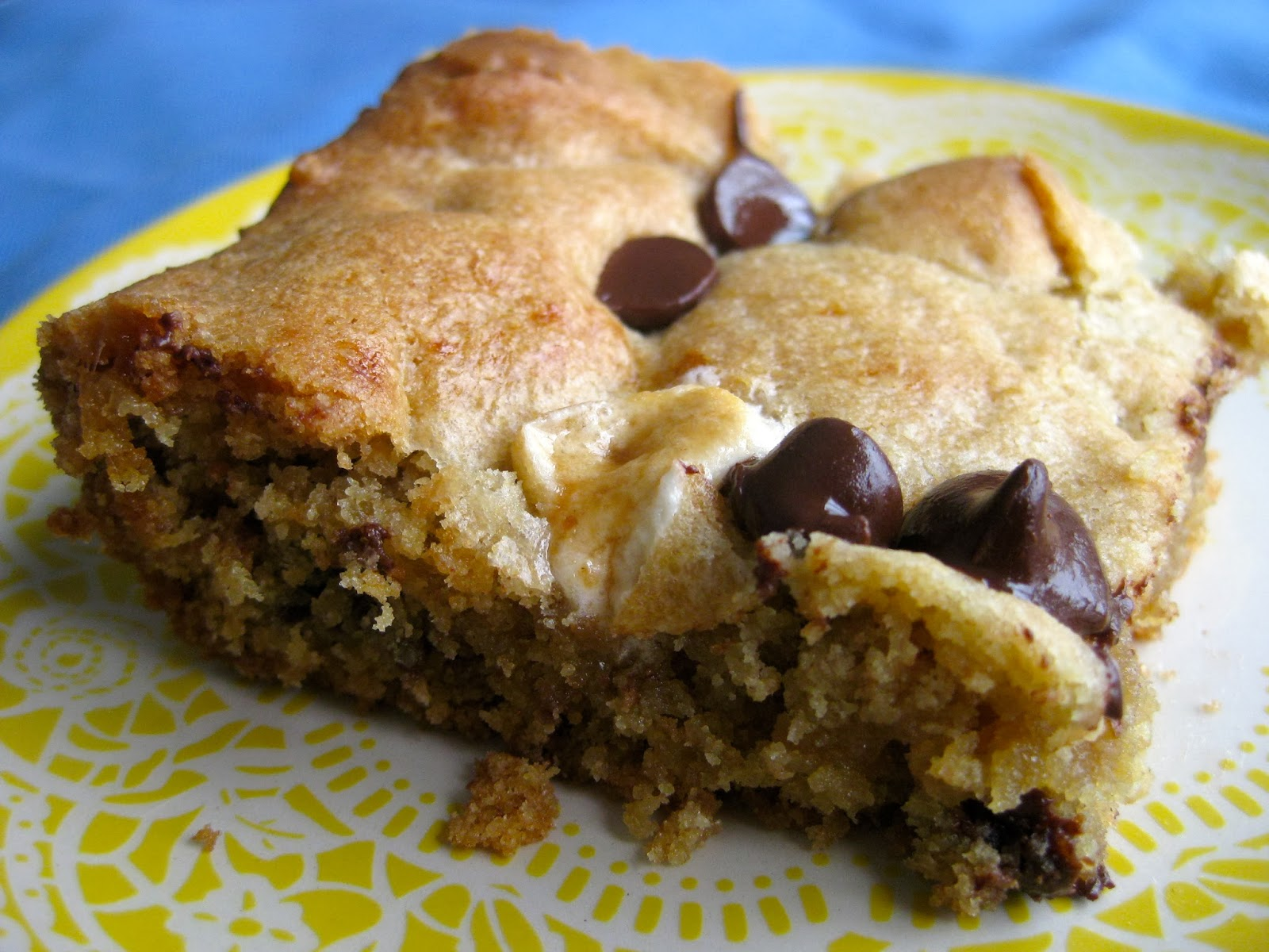 The Pittsburgh Kitchen Chocolate Chip Marshmallow Cookie Bars