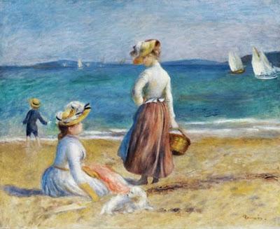 Figures on the Beach - Pierre-Auguste Renoir
