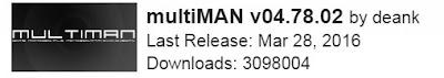 Download MultiMAN 04.78.02 Versi Terbaru Untuk PS3 Gratis