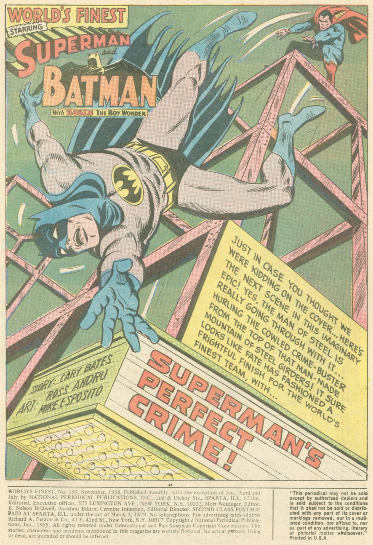 Read online World's Finest Comics comic -  Issue #180 - 3