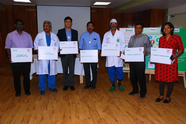 Doctors at Fortis Hospital spreading awareness