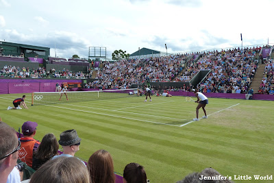 London 2012 Olympics - Beach volleyball and tennis