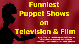 Funniest Puppet Shows on Television and Film Comedy