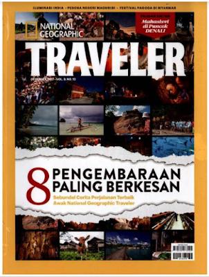 Majalah National Geographic Traveler Indonesia 2018