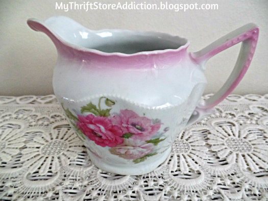 Vintage Baverian China pitcher