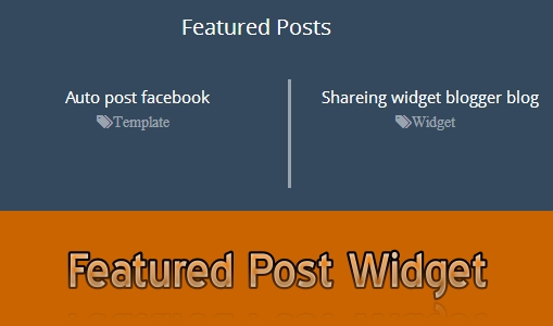 Featured-Post-blogger-widget