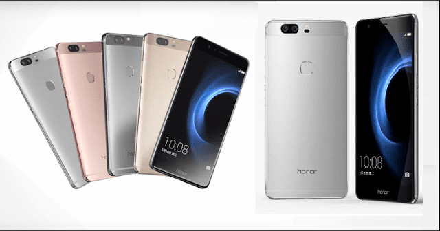 هواوي تطلق هاتفها الذكي Honor V8 بمواصفات عالية