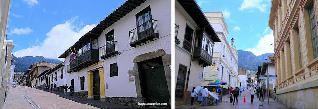 Ruas de La Candelaria, Bogotá