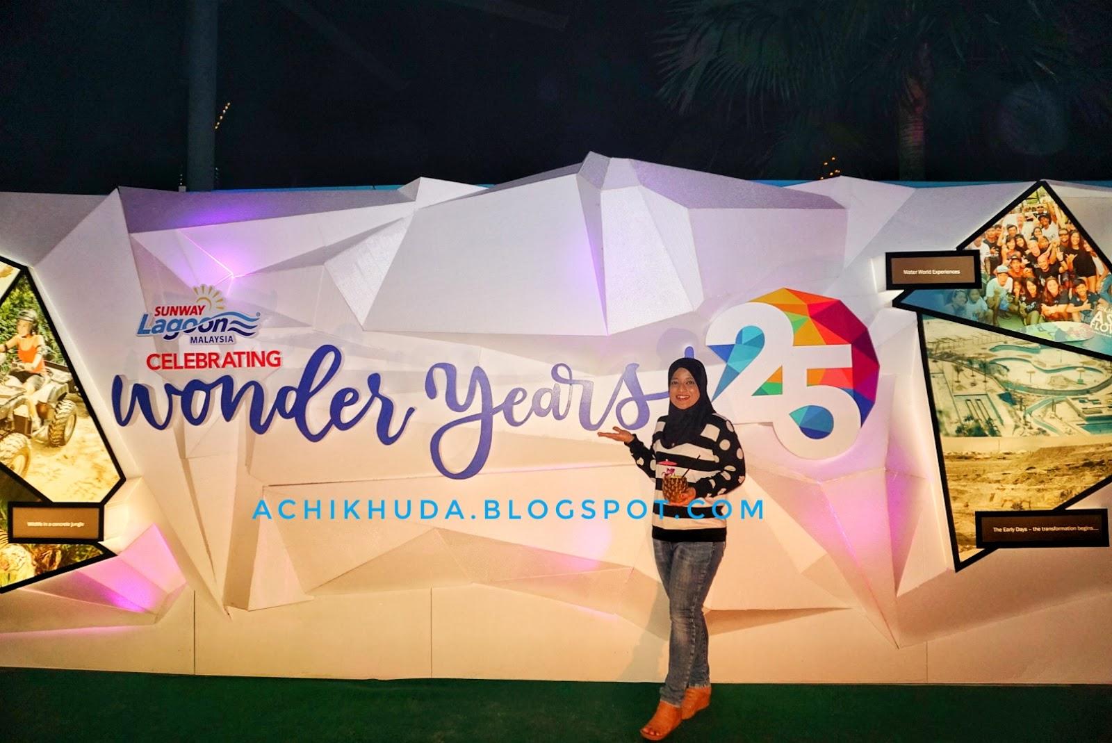 Achik Huda 25 Wonder Years Sunway Lagoon Malaysia Meraikan Et Ticket Dewasa Kuala Lumpur Pada 11 November 2017 Yang Lalu Telah Mengadakan Majlis Sambutan 25th Para Tetamu Hadir Disambut Dengan