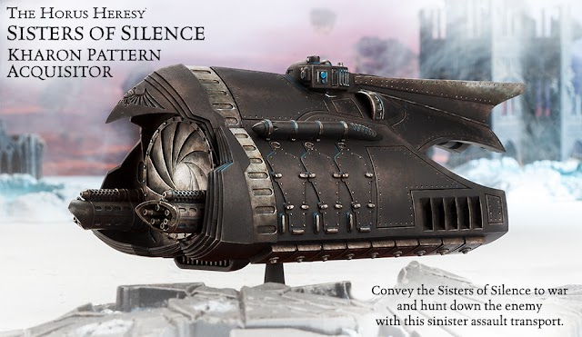 New Sisters of Silence Transport + Other new Pre-Orders from Forgeworld