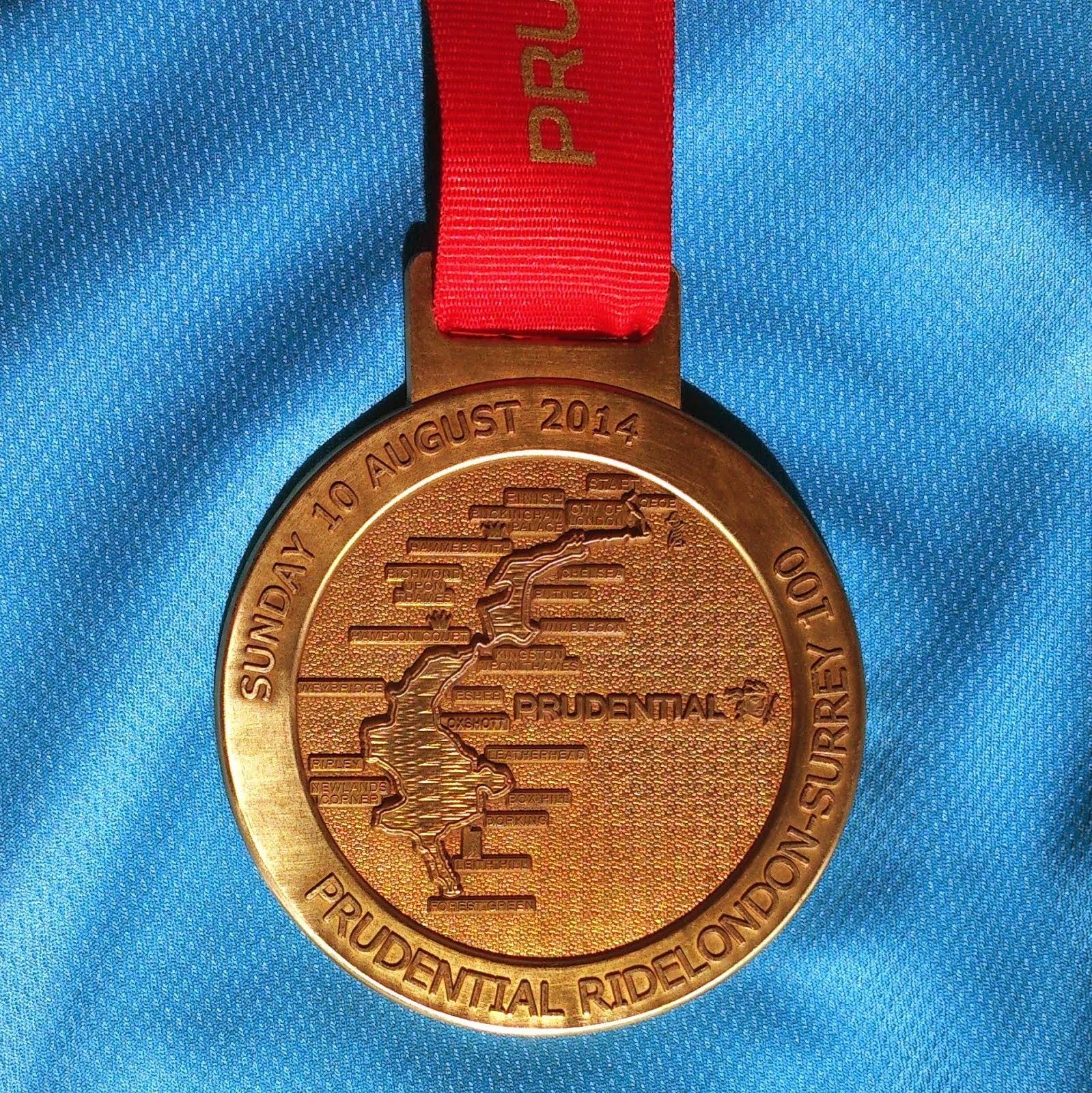 RideLondon-Surrey Medal