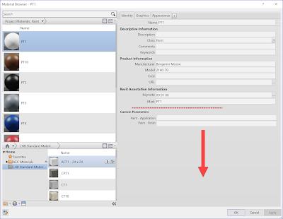 Revit中的材料明细表和自定义材料属性插图(5)
