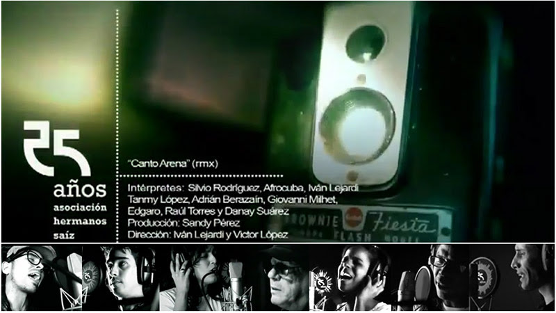 Silvio Rodríguez - Varios artistas - ¨Canto Arena¨ (remix) - Videoclip - Dirección: Iván Lejardi - Víctor López. Portal Del Vídeo Clip Cubano - 01