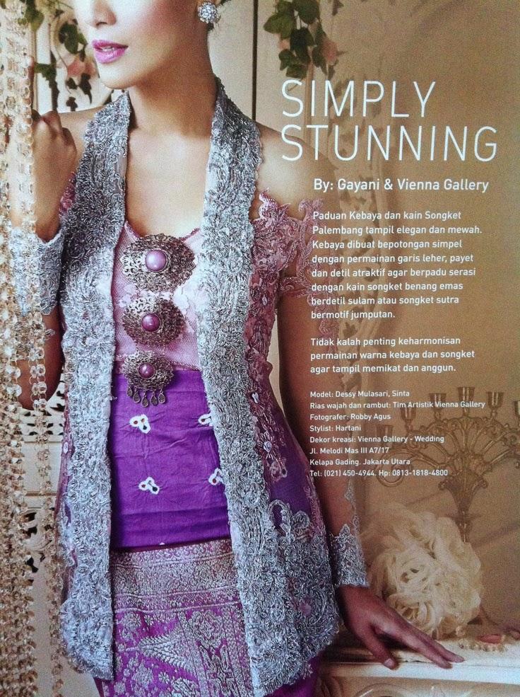 Silver Kebaya Is Calm International Kebaya Batik Modern