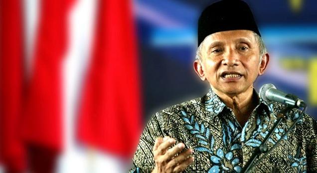 Ancam Jokowi, Amien Rais Sebut Indonesia Bisa Bubar Kalau Jokowi Tak Tahan Ahok