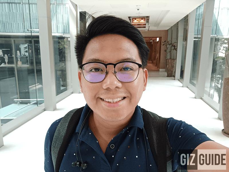 Well-lit selfie