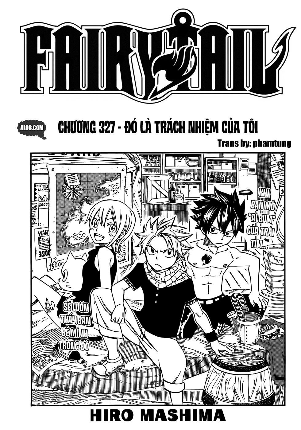 Fairy Tail chap 327 trang 1