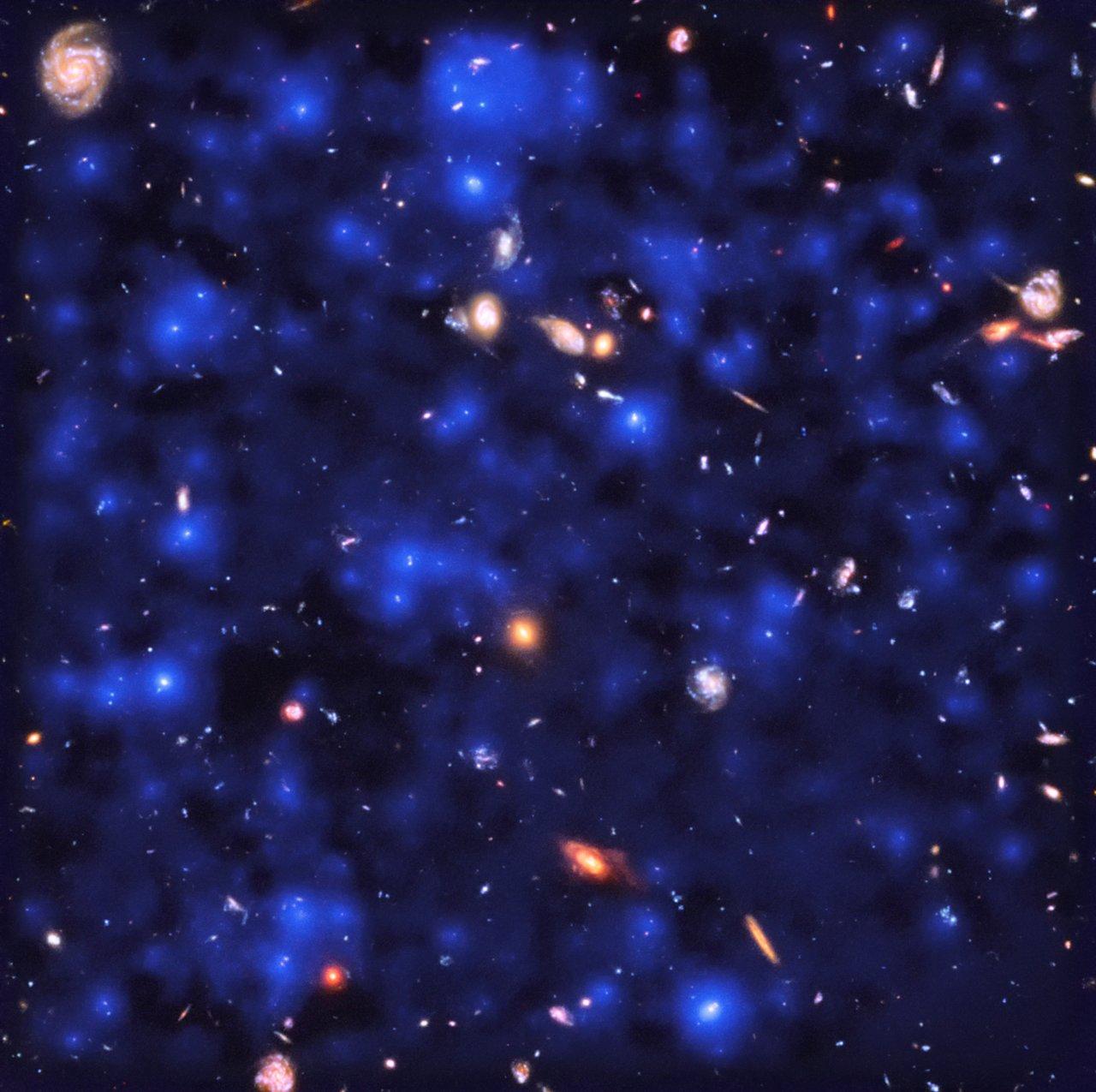 La exquisita sensibilidad de MUSE permitió la observación directa de nubes oscuras de hidrógeno brillando con emisión de Lyman-alfa en el Universo temprano, lo que revela que casi todo el cielo nocturno está invisiblemente encendido