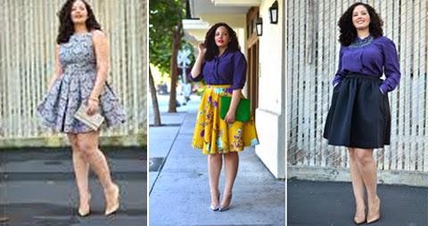 model baju gaun pesta orang gemuk