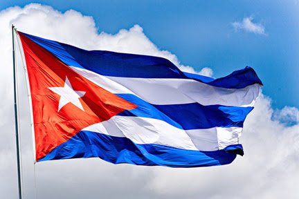The Cuban Flag, the flag of Cuba