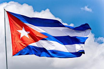 The Cuban Flag, the flag of Cuba