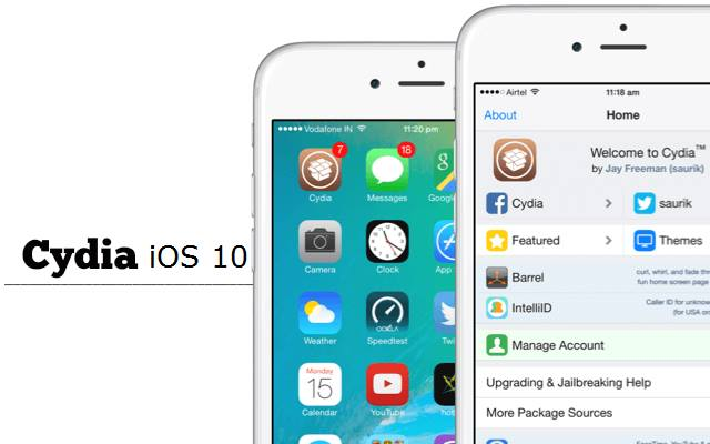 Cydia Installer For iOS 10 Free Download