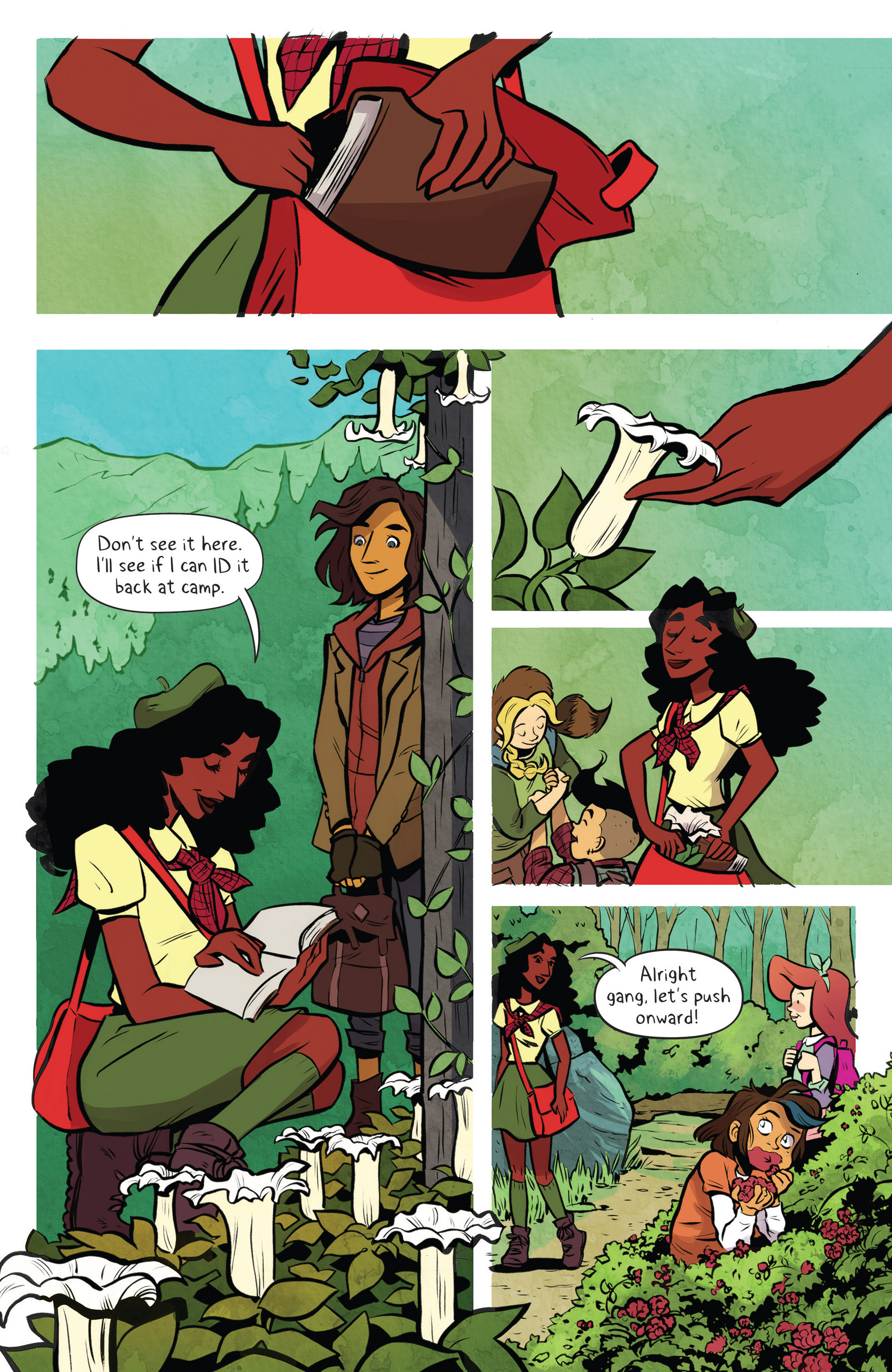 Read online Lumberjanes: Makin' the Ghost of It 2016 Special comic -  Issue # Full - 12