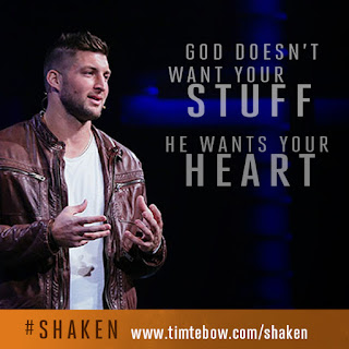 Tim Tebow: Shaken l Book Review