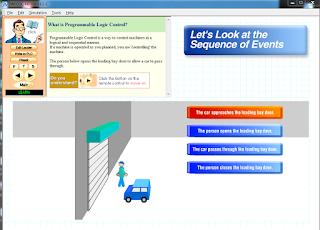 Screenshot 2 : Mitsubishi FX-Series PLC Trainer | Softwares PLC