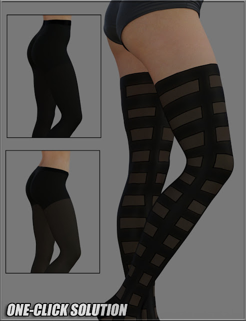 Sexy Skinz - Stockings 02 for Genesis 3 Female