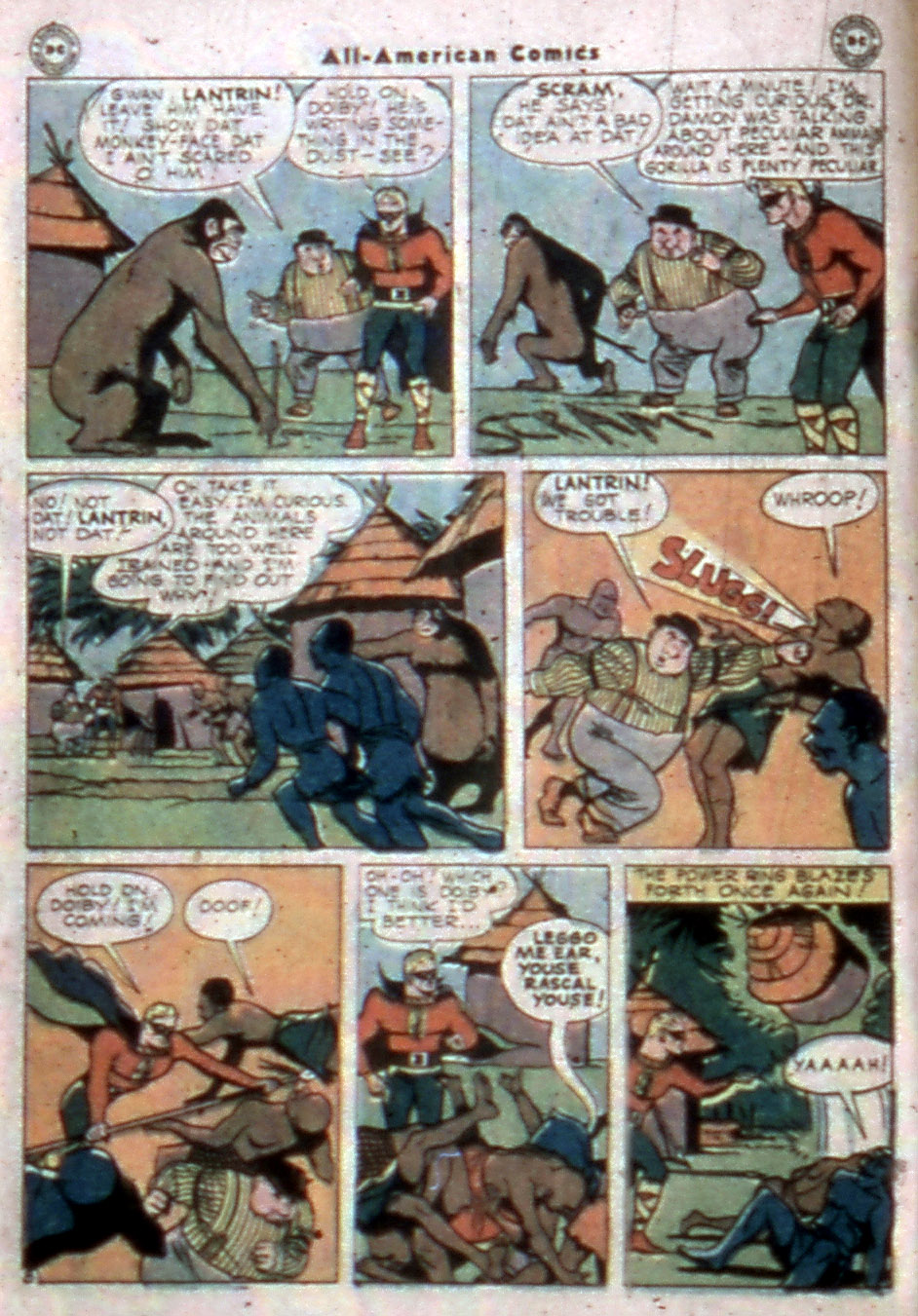 Read online All-American Comics (1939) comic -  Issue #77 - 10