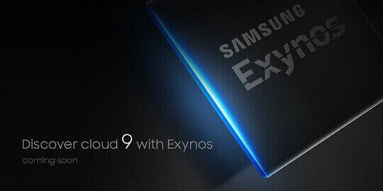 Samsung Teases New Exynos 9 Chipset