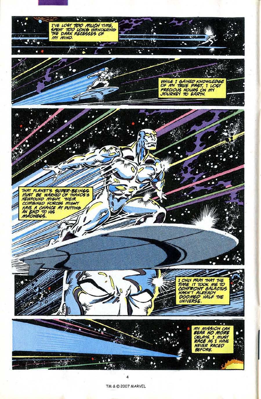 Read online Silver Surfer (1987) comic -  Issue #49 - 6