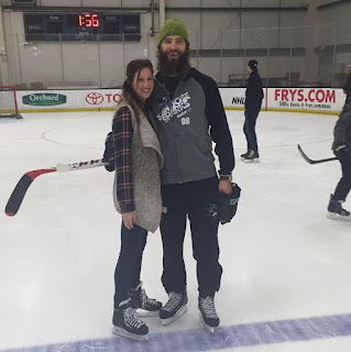 Brent Burns Wife Susan Holder Burns Photo