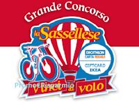Logo La Sassellese ''Vinci al volo'': in palio 96 buoni Decathlon o IKEA da 50€ , biciclette e soggiorno in Alto Adige