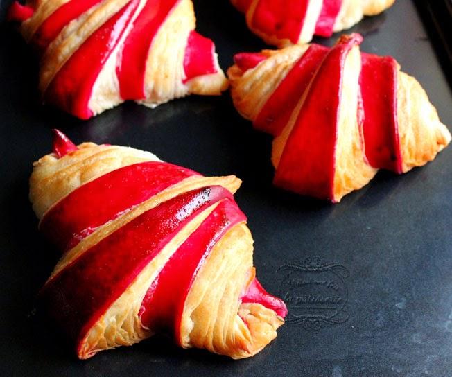 recette croissant couleur