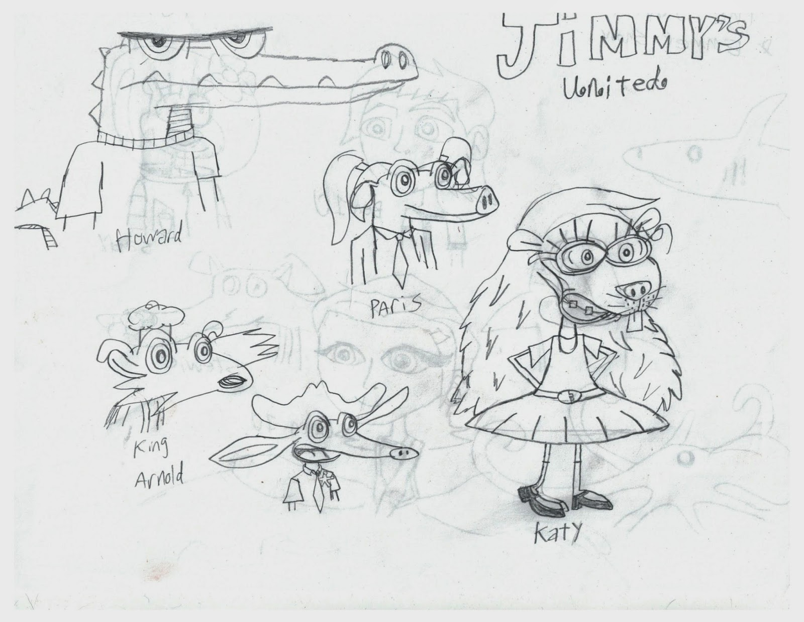 Emmet Paul: New jimmy characters