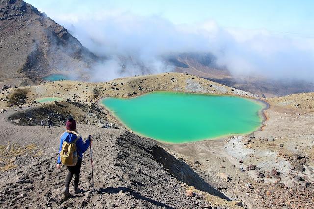 Lac Émeraude Tongariro Alpine Crossing Nouvelle Zelande